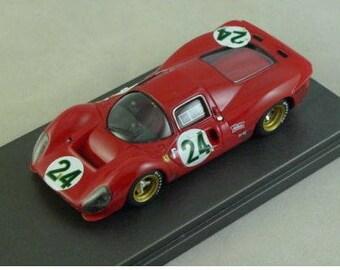 Ferrari 330 P4 Coupé Daytona 24 hours 1967 #23 REMEMBER kit 1:43
