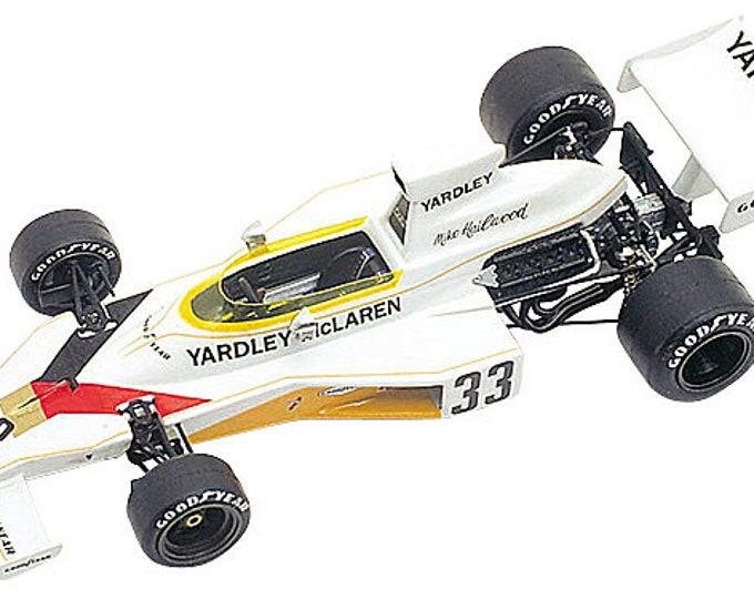 McLaren Ford Cosworth M23 F.1 Brazilian GP 1974 Mike Hailwood TAMEO Kits TMK221 1:43