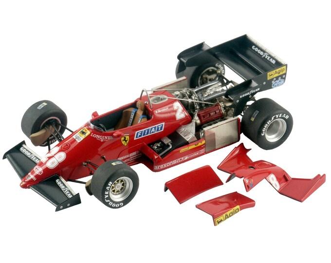 Ferrari 126 C3 Formula 1 German GP 1983 Tambay or Arnoux TAMEO Kits TMK336 1:43