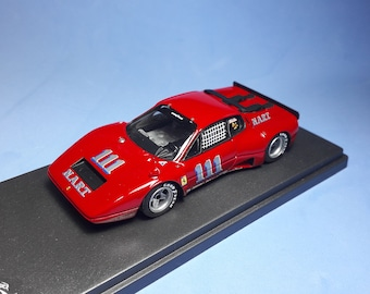 Ferrari 365 GT/BB Nart 100 miles of Lime Rock 1975 #111 Minter REMEMBER Models 1:43 Factory built