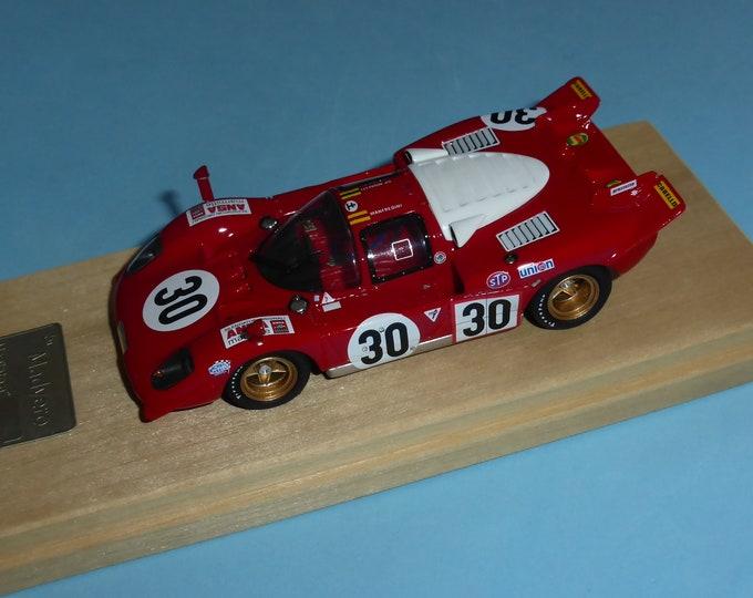 Ferrari 512S Scuderia Picchio Rosso Daytona 24 hours 1970 #30 Manfredini/Moretti Madyero by Remember 1:43 Factory built (special edition)