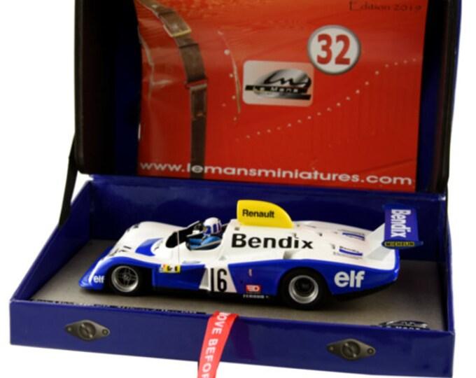 Alpine Renault A442 Gr.6 Le Mans 1977 #16 Pironi/Fréquelin GTS Série Le Mans Miniatures slot car 1:32 132077/16M