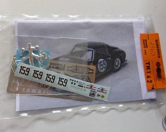 multimedia 1:43 transkit (photoetches, lights, decals etc) for Ferrari 250 GT SWB Tour Auto 1960 #159 Madyero TK142