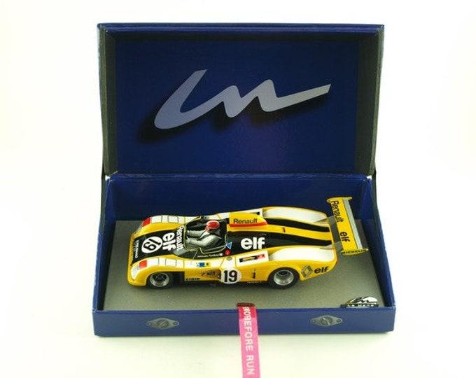 Alpine Renault A442 Le Mans 1976 #19 Jabouille/Tambay GTS Série Le Mans Miniatures slot car 1:32 132076M