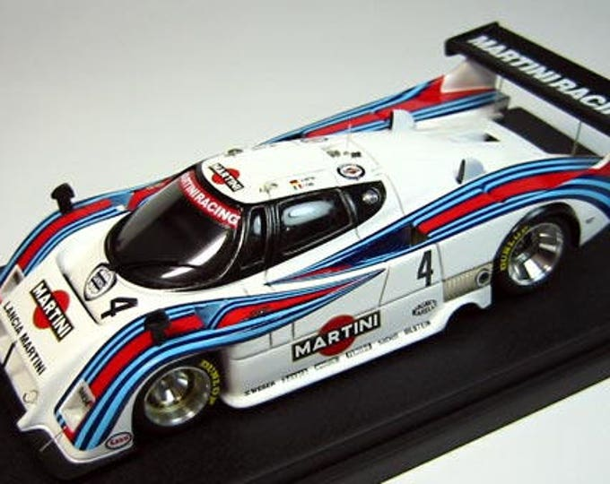 Lancia LC2 Group C Martini Racing 1983 season various versions (Imola, Spa, Mugello, Silverstone, Nurburgring) kit Madyero 1:43