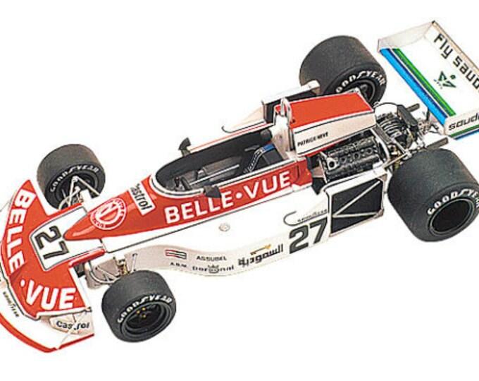 March Ford Cosworth 761 F.1 Team Williams Dutch GP 1977 Patrcik Nève TAMEO Kits TMK274 1:43