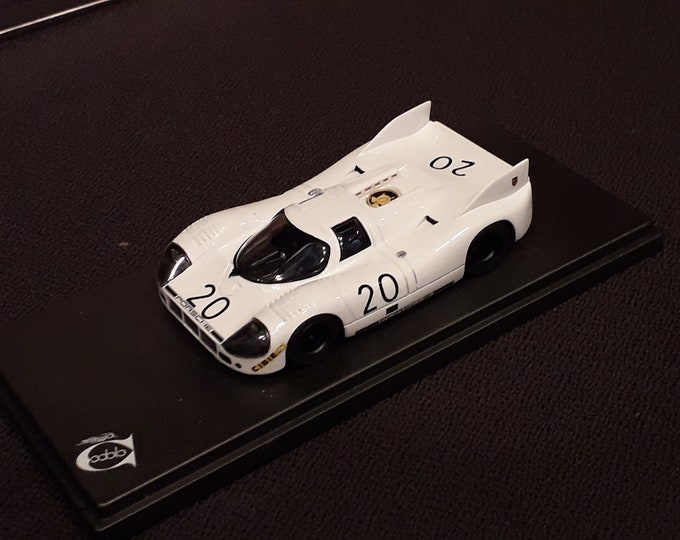 Porsche 917/20 white pig Le Mans 1970 trials n.20 1:43 Remember Models factory built