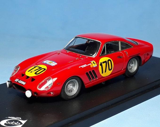 Ferrari 250 GTO 4713GT Tour Auto 1963 #170 Schlesser/Le Guézec REMEMBER Models 1:43 - Factory built