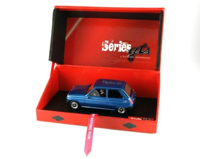 Renault 5 Alpine metallic blue GTS Série Le Mans Miniatures slot car 1:32 GTS132002