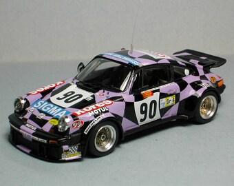 Porsche 934 Gr.4 Kores-Sigma Le Mans 1980 #90 Madyero KIT 1:43