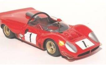 Ferrari 330 P3-P4 (412P) 1969 Solituderennen Hockenheim # 1 David Piper REMEMBER kit 1:43
