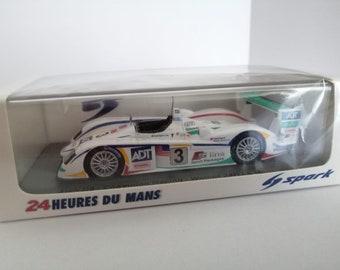 Audi R8 Team ADT Champion Le Mans 2005 winner Werner/Lehto/Kristensen still sealed 1:43 SHIPPING OFFERED