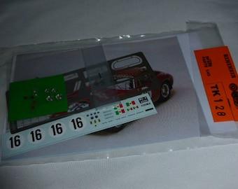 multimedia 1:43 transkit (photoetches, lights, decals etc) for Ferrari 250 GT SWB Le Mans 1961 #16 Madyero TK128