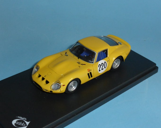 Ferrari 250 GTO  4153GT Ecurie Francorchamps Mont Ventoux 1965 Willy Mairesse #220 1:43 Remember Models factory built