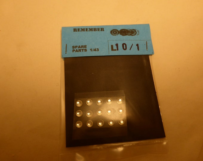 pack of 16 lights for model cars and other models mm 4.0 round Remember L10 6-COLOURS CHOICE OPTION