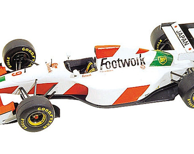 Footwork Mugen FA14 F.1 French GP 1993 Suzuki or Warwick Tameo Kits TMK172 1:43