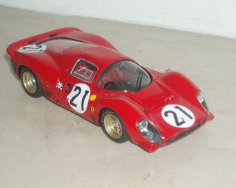 Ferrari 330 P4 Coupé works car Le Mans 1967 #19/21 REMEMBER kit 1:43