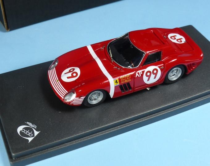 Ferrari 250 GTO 64 5571GT Candlestick Park Raceway 1965 #99 Augie Pabst REMEMBER Models 1:43 - Factory built