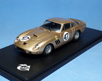 Ferrari 330 LMB 4453SA Double 500 Bridgehampton 1963 #47 Dan Gurney 1:43 Remember Models factory built