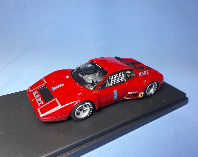 Ferrari 365 GT/BB Nart 24h Daytona 1975 #1 Cudini/Ballot-Lena REMEMBER Models 1:43 Factory built