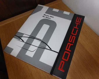 Porsche official notebook and ballpoint pen issued for the Porsche 919 WEC 2014 season WAP0920050F (media and operators)