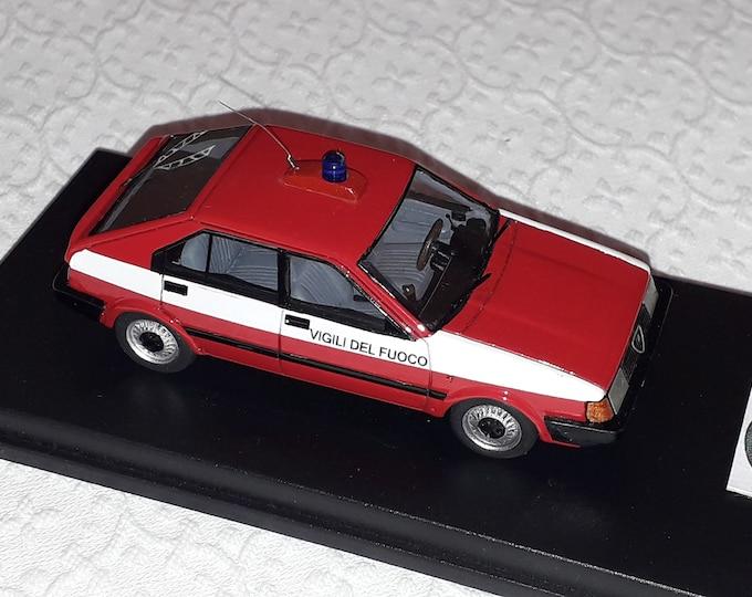 """Alfa Romeo Arna L 5-doors Vigili del Fuoco (Italian fire dept.) """"Nonomologati"""" (ex Gamma Models) 1:43 - Factory built"""