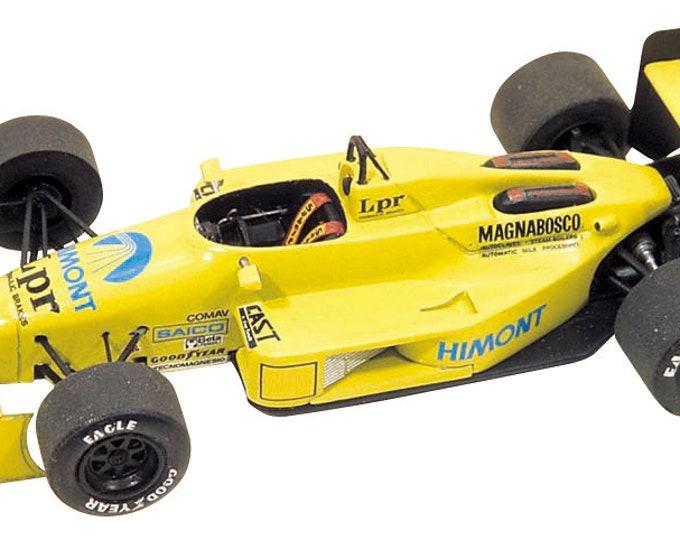 Coloni Cosworth CF188 F.1 Monaco GP 1988 Gabriele Tarquini Tameo Kits TMK075 1:43