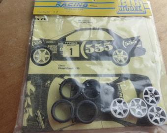 1:24 transkit for Subaru Impreza WRX 555 Rally Catalunya 1997 McRae/Ringer Dallavilla (decals+wheels+tires) RACING43 Big-TK20