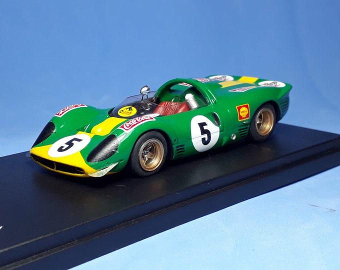 Ferrari 330 P3/4 Spyer ch.0854 Killarney 1968 #5 David Piper REMEMBER Models 1:43 Factory built