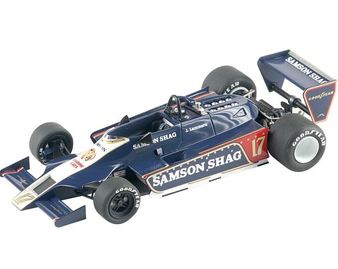 Shadow Ford Cosworth DN9B F.1 Argentine GP 1979 Jan Lammers TAMEO Kits TMK300 1:43
