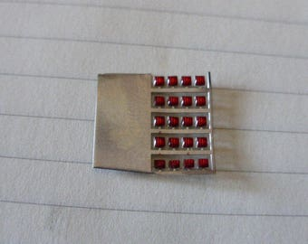 high quality photoetched+resin lights square red mm 1.5 FLQ1.5 for model cars and other models