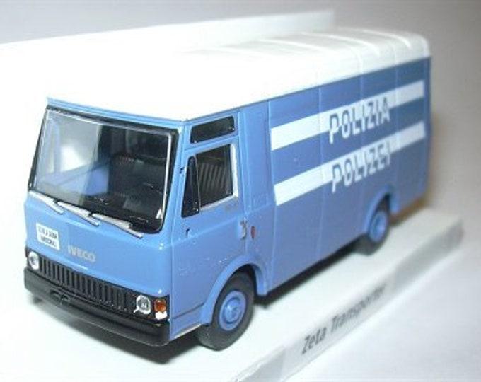 Iveco Zeta Transporter Polizia/Polizei Fahrschule (German spoken Italy) Brekina 34537 1:87 H0