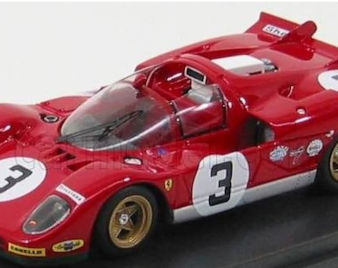 Ferrari 512S Spyder 1000km Monza 1970 #3 Giunti/Vaccarella works car Madyero by Remember 1:43 KIT