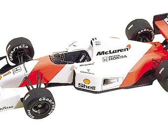 McLaren Honda MP4/7 British GP 1992 Senna or Berger Tameo Kits TMK158 1:43