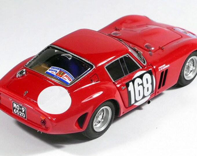 Ferrari 250 GTO 5111GT Tour Auto 1964 #168 Guichet/De Bourbon-Parme Remember Models KIT 1:43