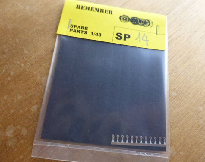 photo etched door and boot handles for Ferrari 250 GTO 62 / 64 etc 1:43 (pack of 12) Remember SP14