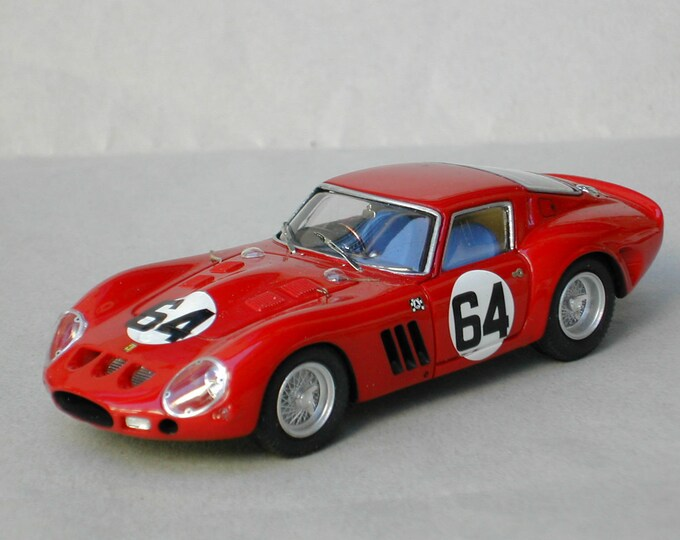 Ferrari 250 GTO 3647GT 1000km Nurburgring 1963 #64 Hitchcock/Tchkotoua Remember Models kit 1:43
