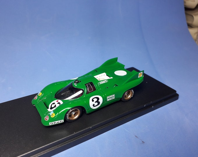Porsche 917K David Piper Autoracing Interserie Nurburgring 1972 Chris Craft REMEMBER Models 1:43 factory built