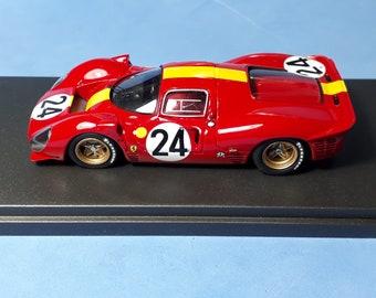 "Ferrari 330 P4 E.Francorchamps Le Mans 1967 #24 Mairesse/""Beurlys"" Tokoloshe by Remember TOK23 1:43 factory built"