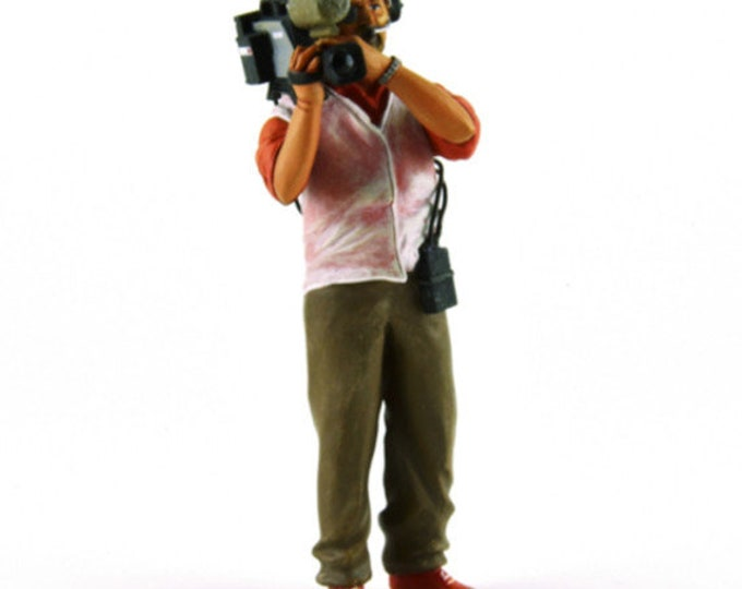 Cameraman of the 2000s in action 1:18 high quality figure Le Mans Miniatures FLM118031