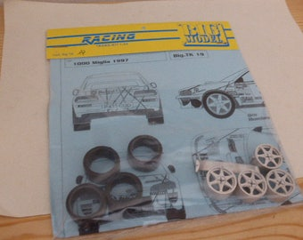1:24 transkit for Subaru Impreza WRX Bulgari Rally Mille Miglia 1997 Dallavilla (decals+wheels+tires+spoiler) RACING43 Big-TK19