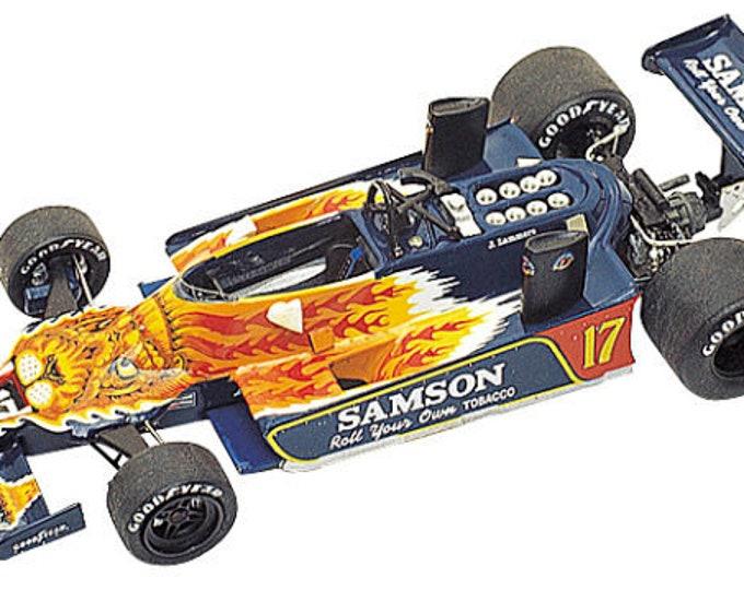 Shadow Ford Cosworth DN9B F.1 Samson Belgian GP 1979 Jan Lammers TAMEO Kits TMK272 1:43