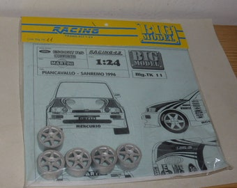 1:24 transkit for Ford Escort RS Cosworth Martini Sanremo or Piancavallo 1996 (decals+wheels) RACING43 Big-TK11