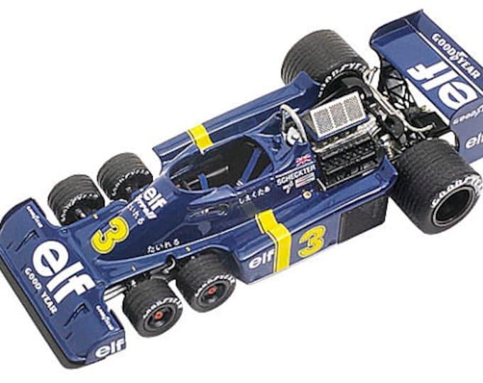 Tyrrell Ford Cosworth P34 Formula 1 Japan GP 1976 Scheckter / Depailler TAMEO Kits TMK222 1:43