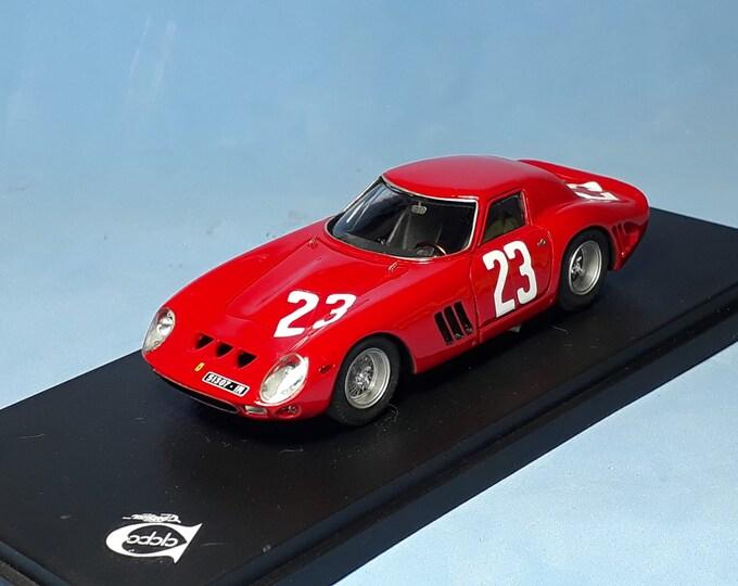Ferrari 250 GTO 64 4675GT Scuderia St Abroeus 1000km Monza 1966 #23 Taramazzo/Pianta REMEMBER Models 1:43 - Factory built