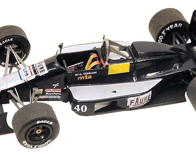 AGS Cosworth JH23 F.1 Monaco GP 1989 Gabriele Tarquini Tameo Kits TMK099 1:43