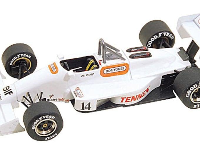 AGS Cosworth JH23 F.1 Brazilian GP 1988 Streiff Tameo Kits TMK083 1:43