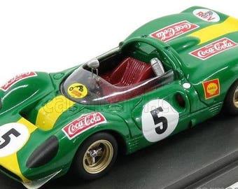 Ferrari 412P (330 P3-P4) Kyalami 9h 1968 David Piper Autoracing Remember Models kit 1:43
