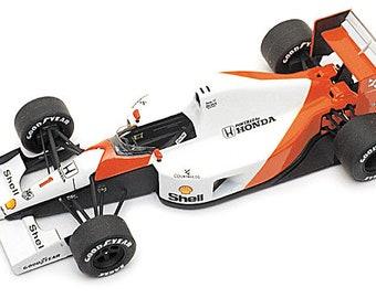 McLaren Honda MP4/6 Formula 1 Monaco GP 1991 Senna TAMEO Kits WCT-091 1:43