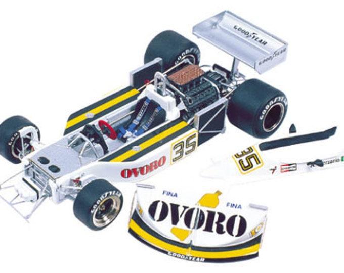 March Ford Cosworth 761 F.1 Ovoro Swedish GP 1976 Merzario TAMEO Kits TMK275 1:43